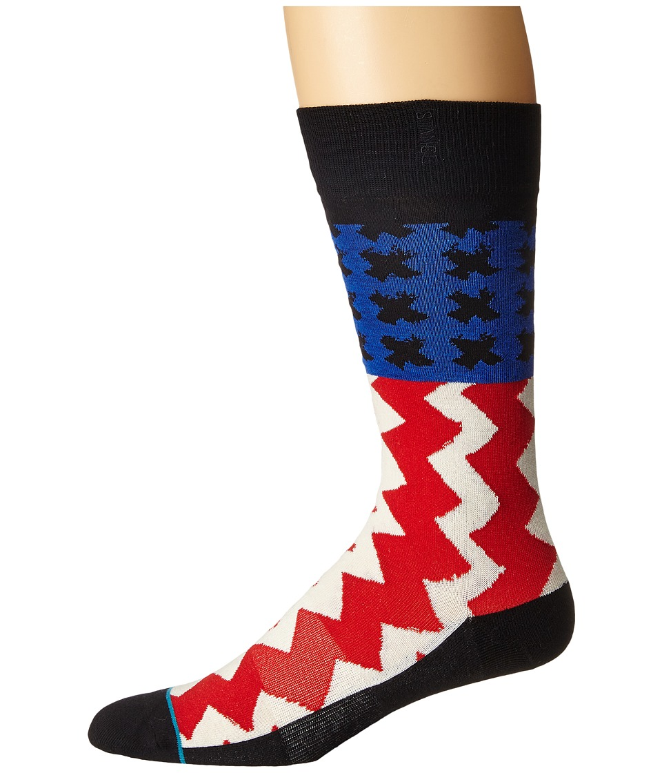 Stance - Stereo (Off-White) Men's Crew Cut Socks Shoes