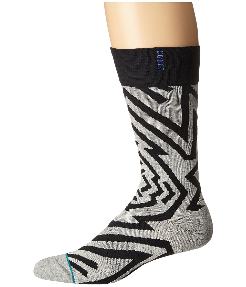 Stance - Quest (White) Men's Crew Cut Socks Shoes