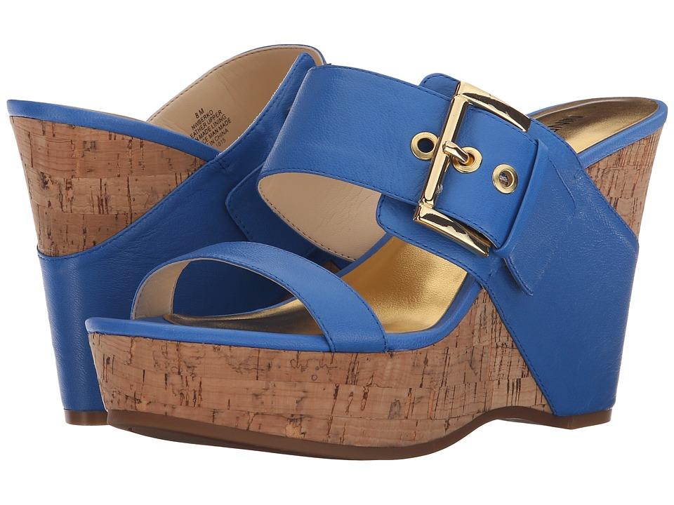 Nine West - Berko (Blue Leather) Women