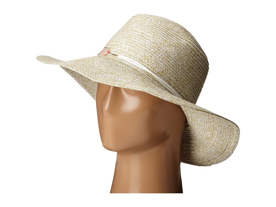 BCBGeneration - Crystal Floppy Hat (White) Caps