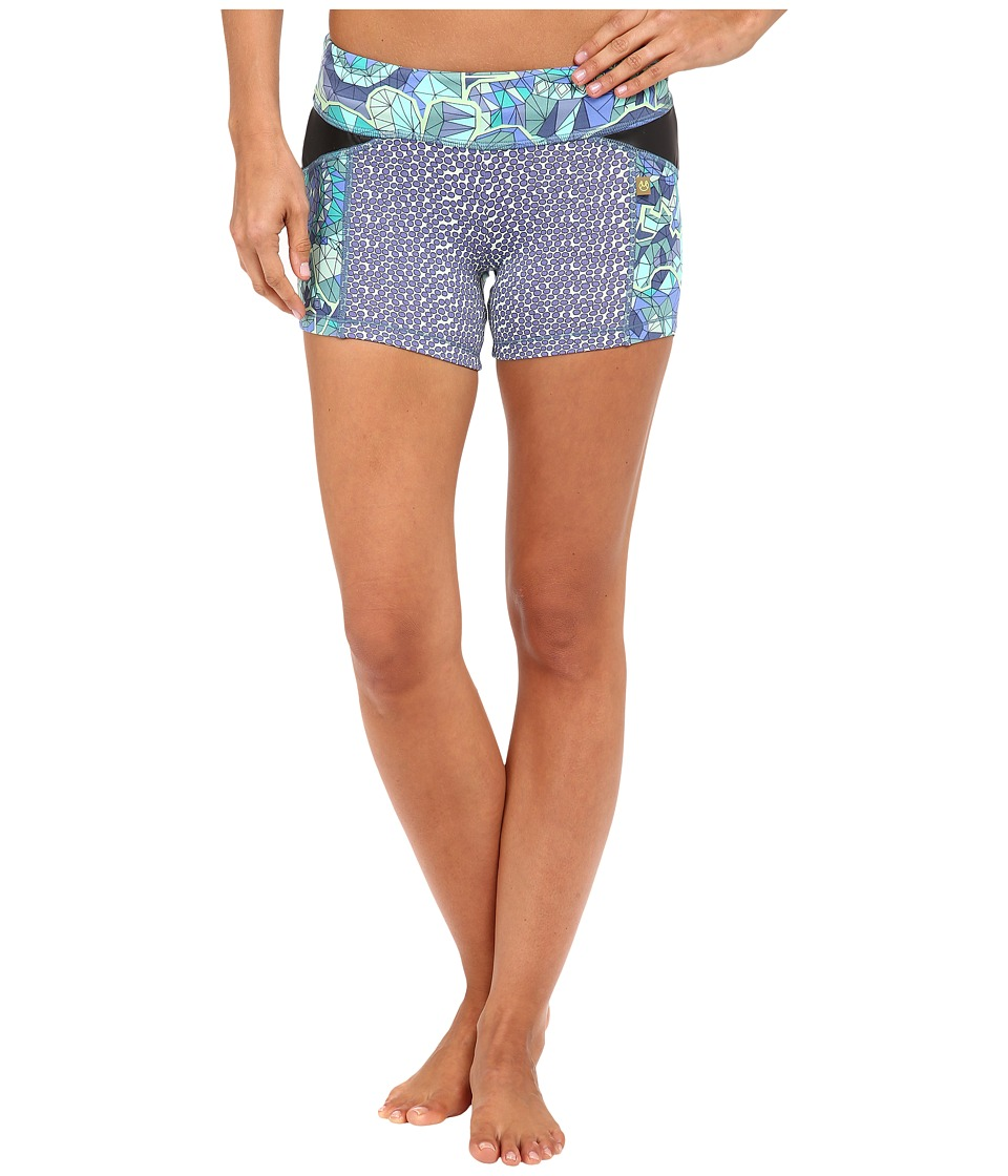 Maaji - Waterloo Row Active Shorts (Multicolor) Women's Shorts