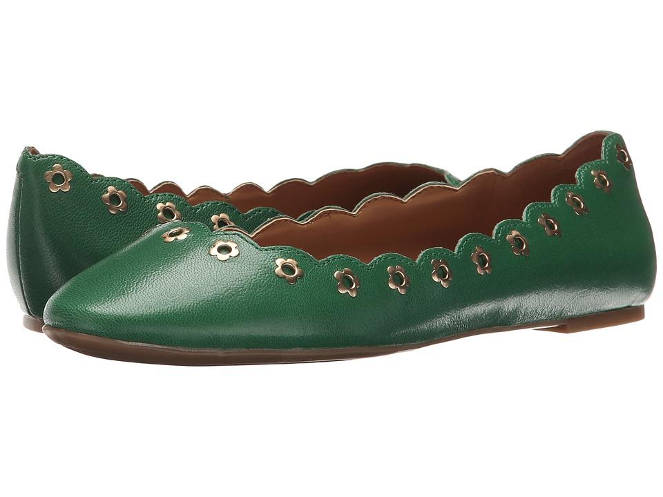 Nine West - Mintchip (Green Leather) Women's Shoes