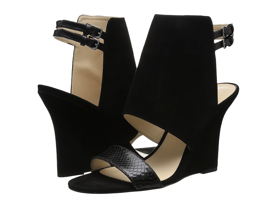 Nine West Bueta (Black Multi Suede) Women