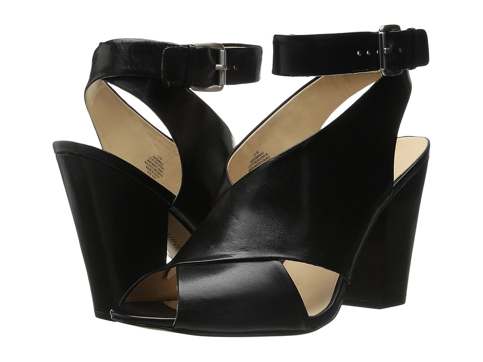 Nine West - Ombray (Black Leather) Women's Shoes