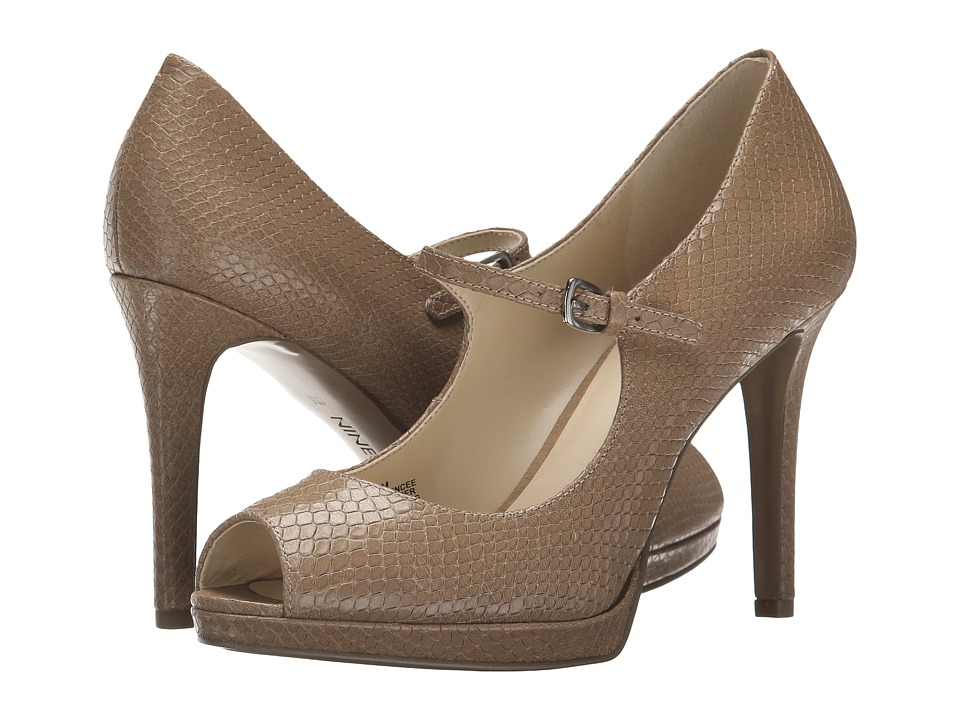 Nine West - Emergencee (Natural Textured Leather) Women's Shoes