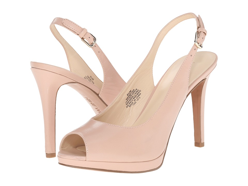 Nine West - Emilyna (Light Pink Leather) Women's Shoes