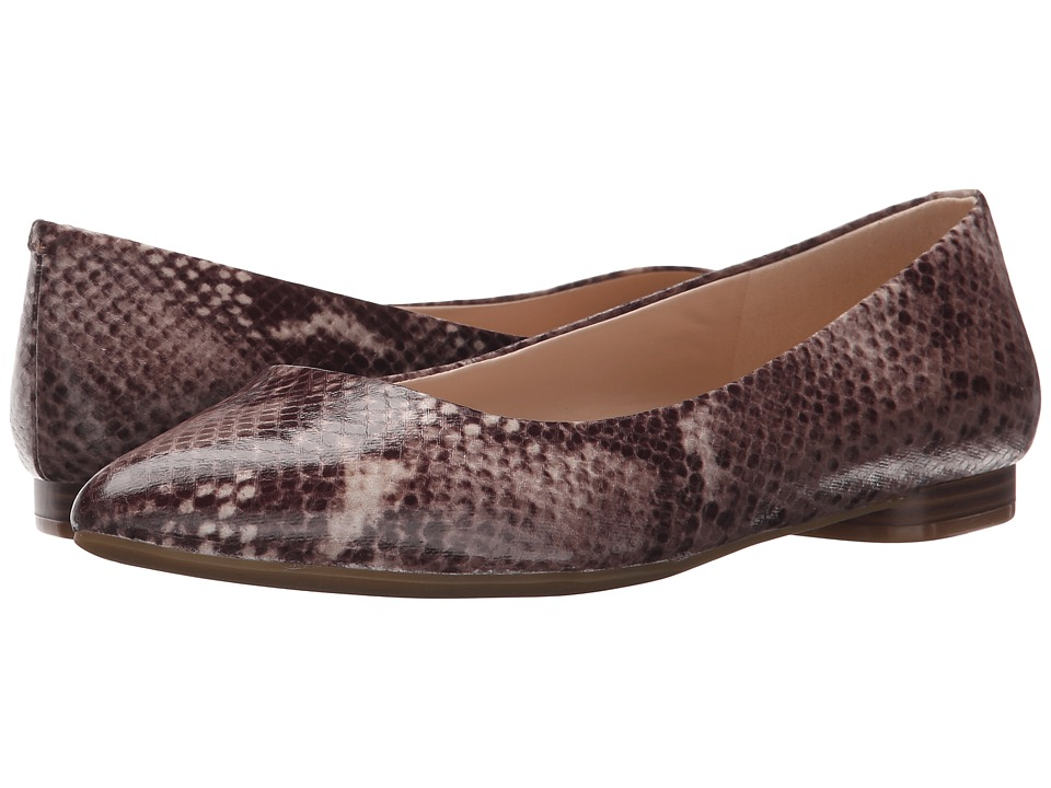 Nine West - Onlee (Dark Natural Multi Synthetic) Women's Shoes