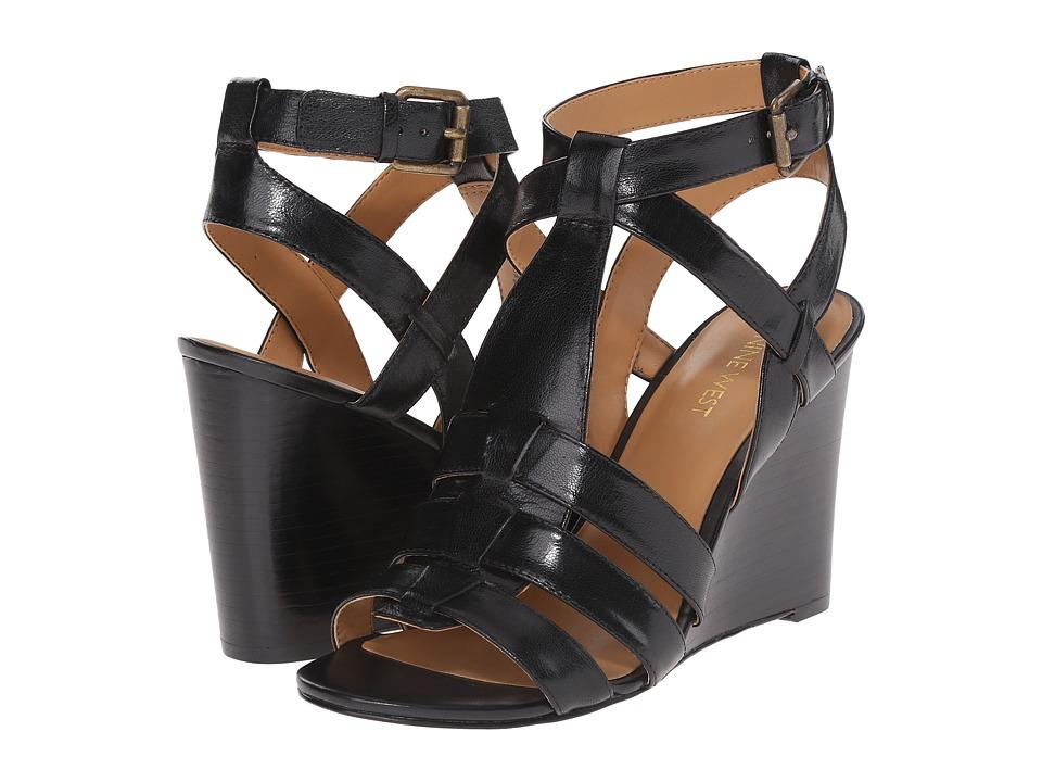 Nine West - Farfalla (Black Leather) Women's Shoes