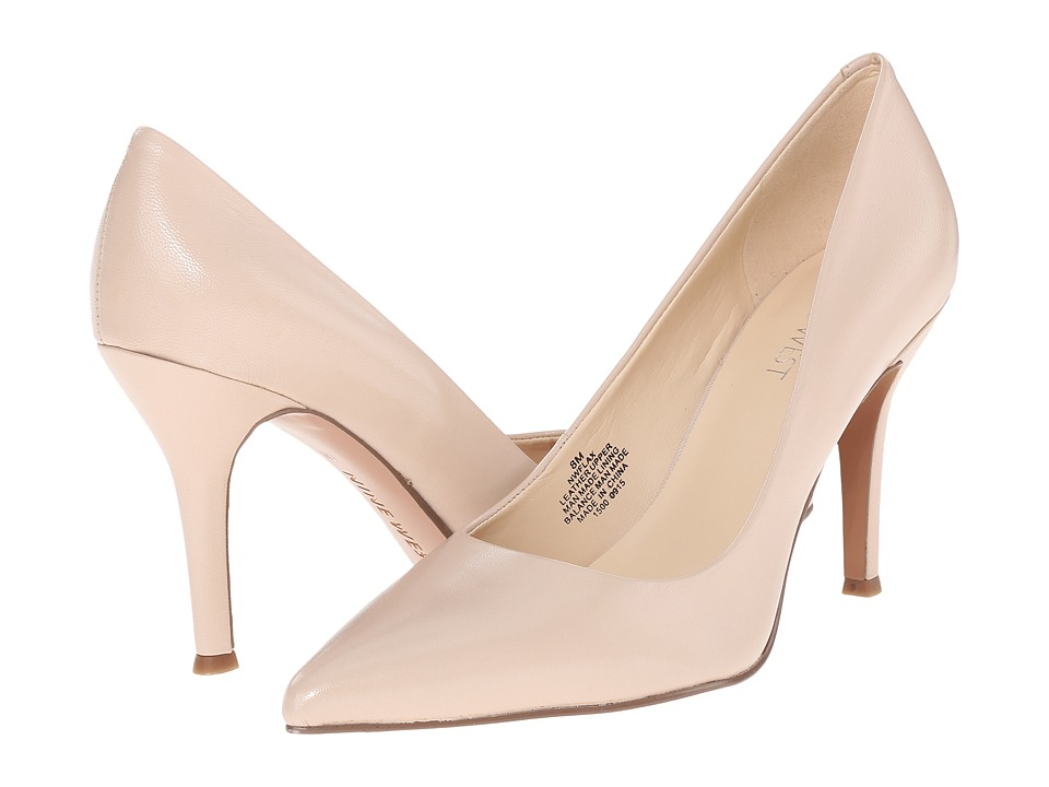 Nine West - Flax (Light Natural Leather 1) High Heels