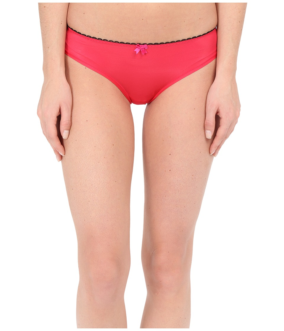 Betsey Johnson - Cheeky Cut Out Bikini J1002 (Red Hot) Women's Underwear