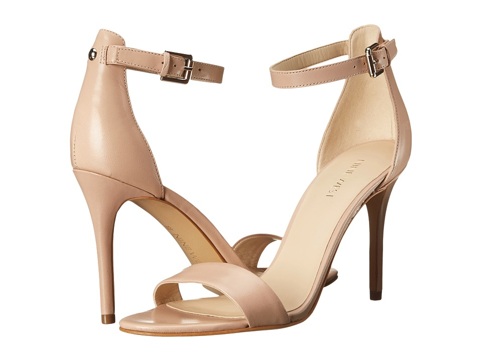 Nine West Mana (Light Pink Leather) High Heels