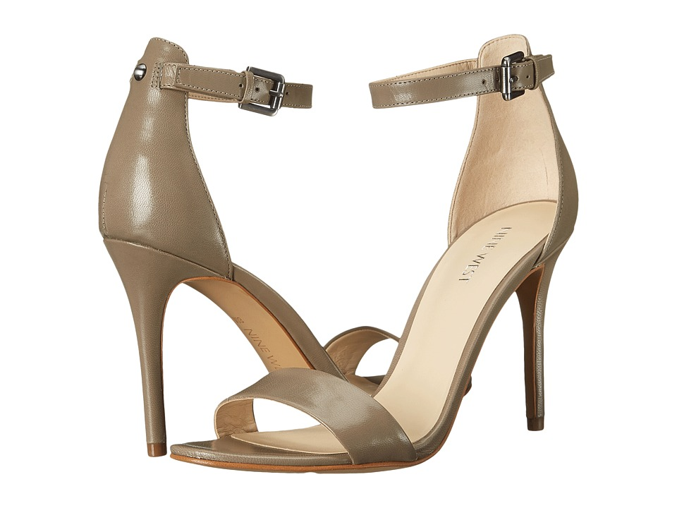 Nine West - Mana (Grey Leather) High Heels