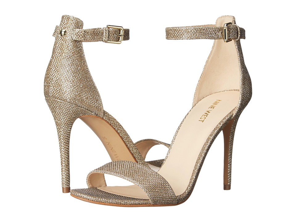 Nine West - Mana (Gold Fabric) High Heels