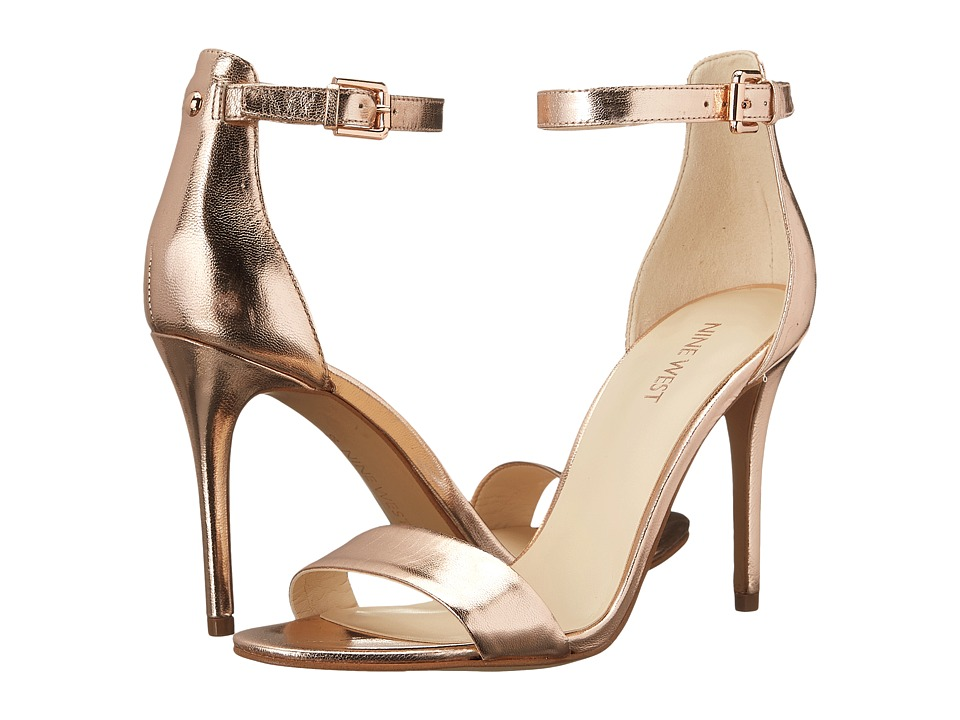 Nine West - Mana (Pink Metallic) High Heels