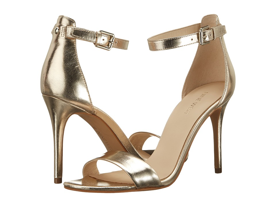 Nine West - Mana (Light Gold Metallic) High Heels