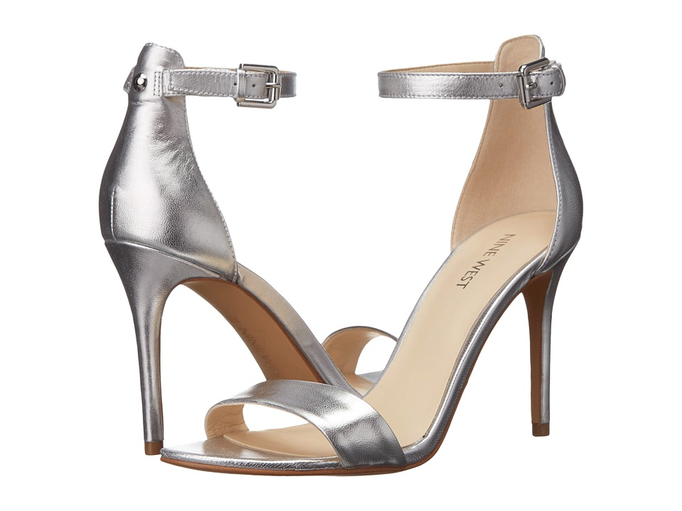 Nine West - Mana (Silver Metallic) High Heels