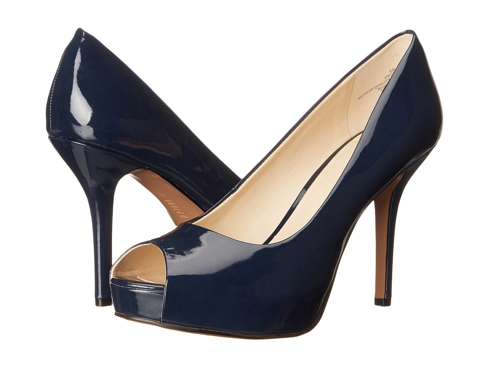 Nine West - Qtpie (Navy Synthetic) Women's Shoes