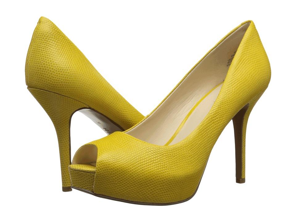 Nine West - Qtpie (Yellow Reptile) Women's Shoes