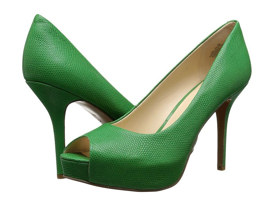 Nine West - Qtpie (Green Reptile) Women's Shoes