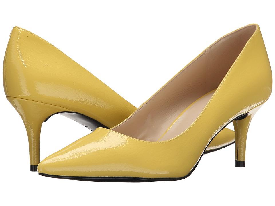 Nine West - Margot (Yellow Synthetic) High Heels