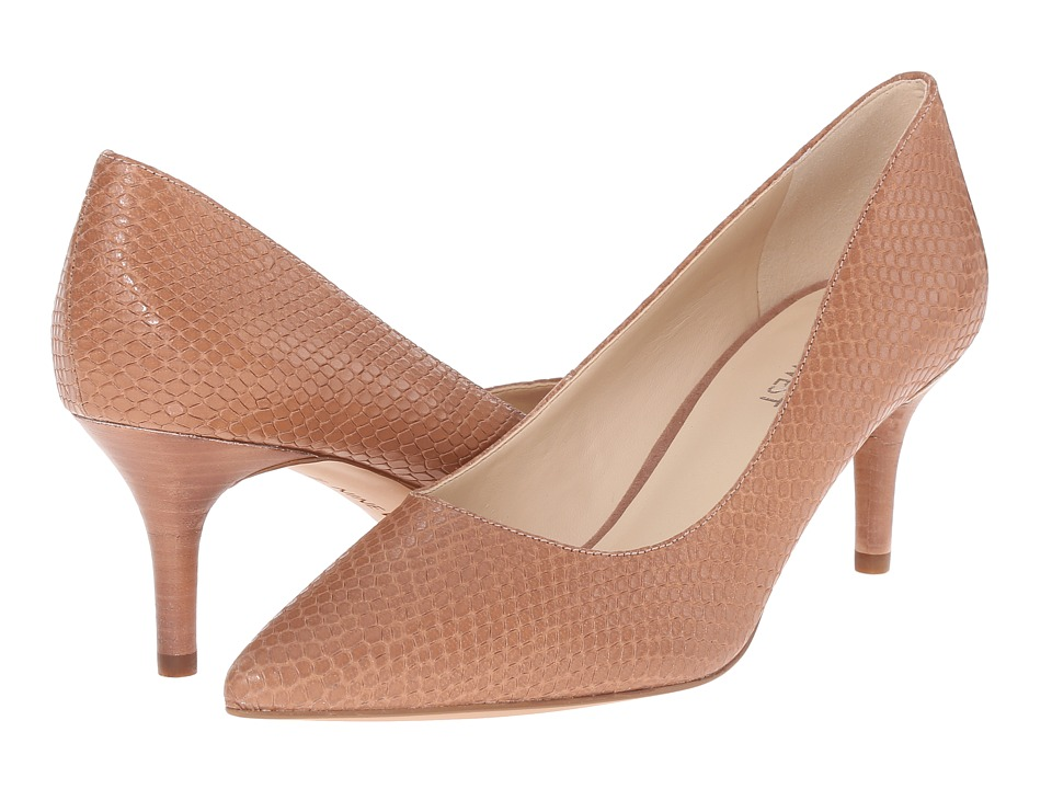 Nine West - Margot (Medium Natural Leather) High Heels
