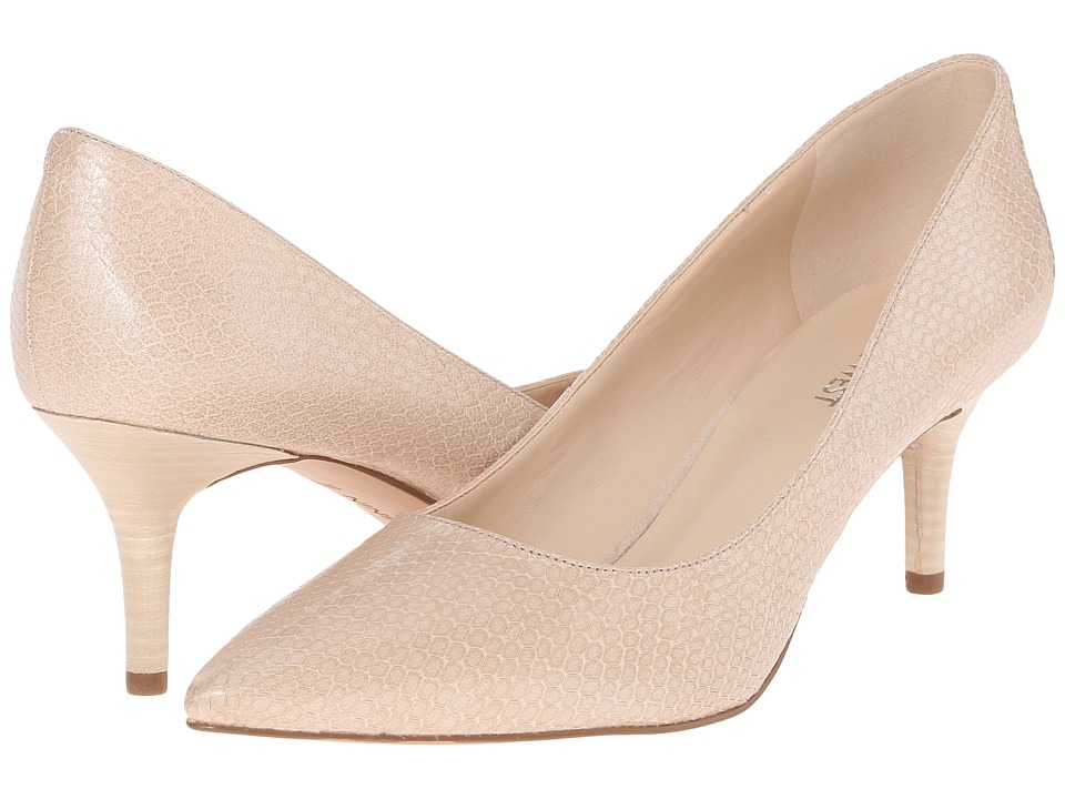 Nine West - Margot (Off-White Leather) High Heels