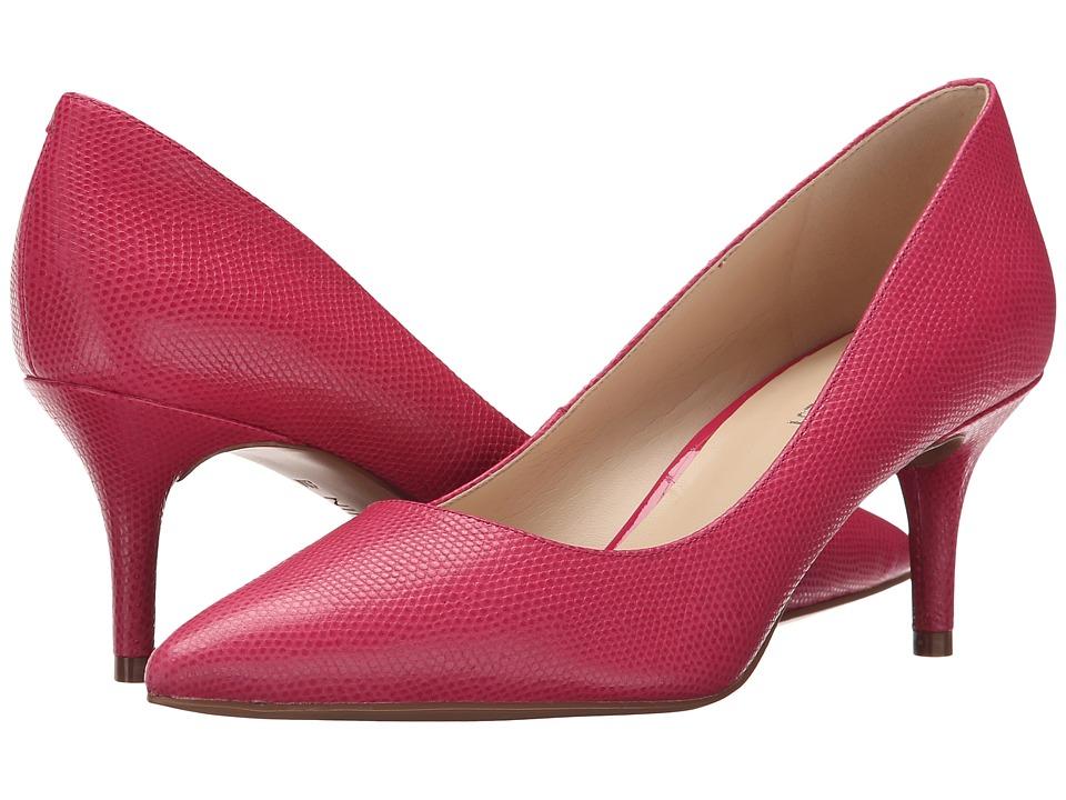 Nine West - Margot (Pink Reptile) High Heels
