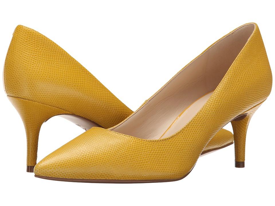 Nine West - Margot (Yellow Reptile) High Heels