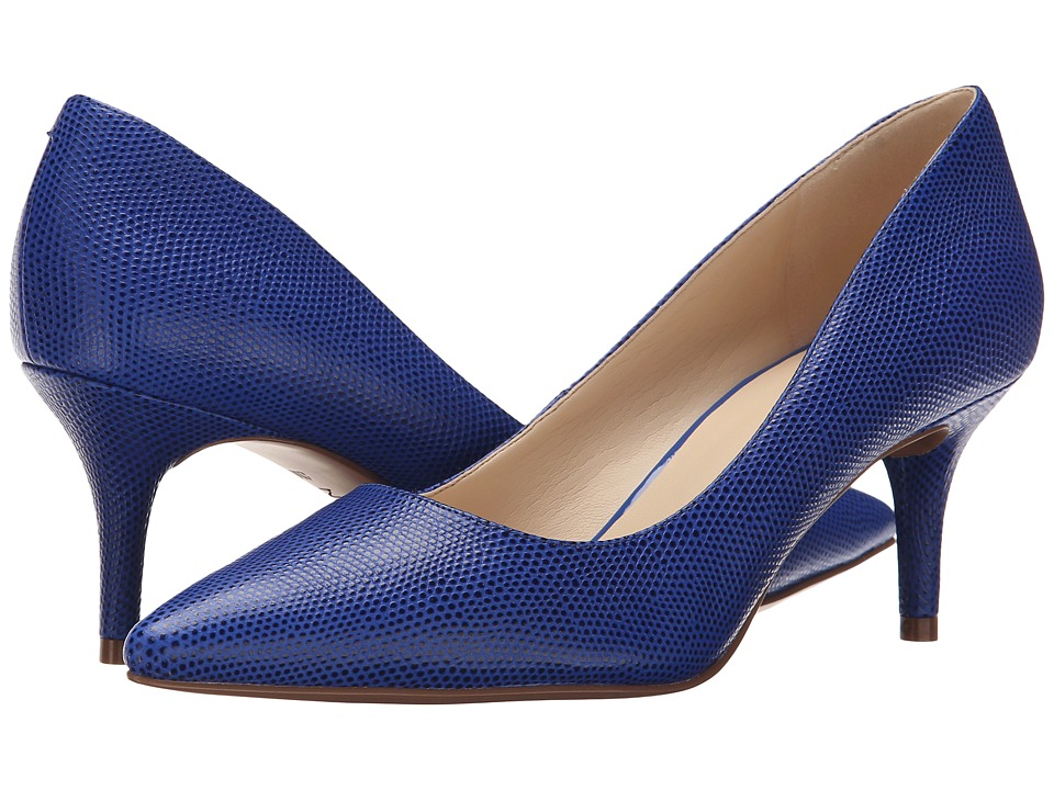 Nine West - Margot (Blue Reptile) High Heels