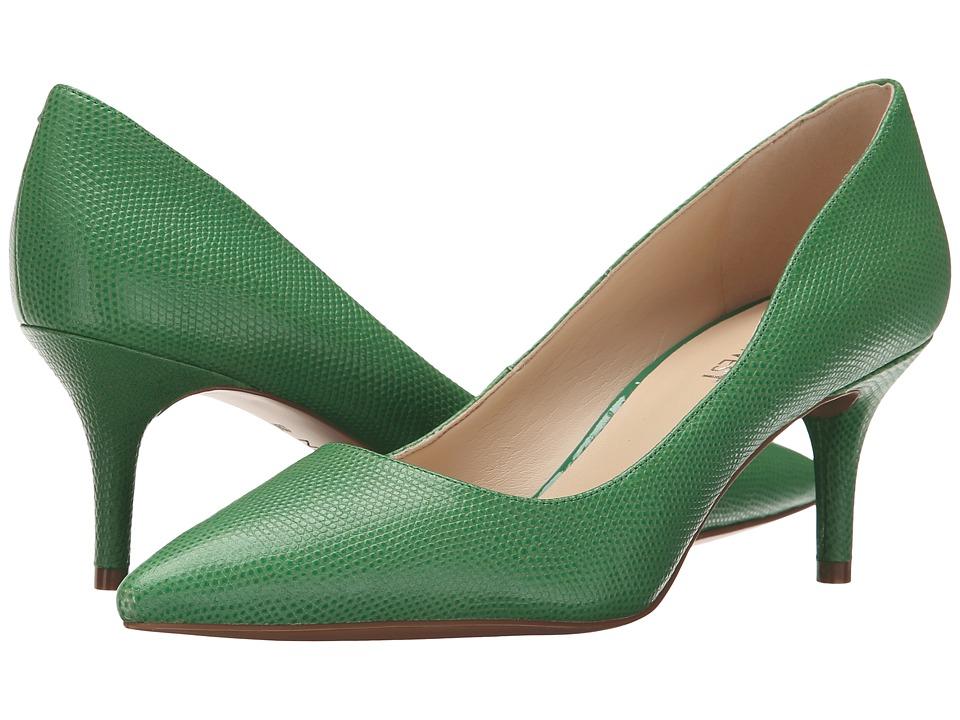 Nine West - Margot (Green Reptile) High Heels