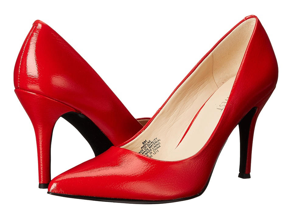 Nine West - Flax (Red Patent Synthetic) High Heels