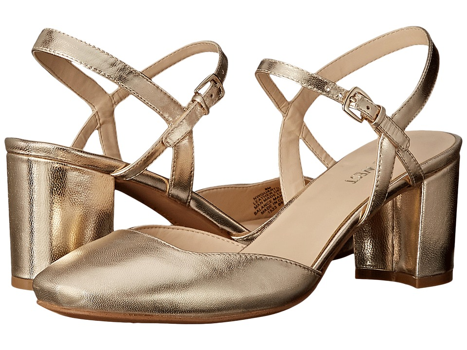 Nine West - Quartilla (Light Gold Metallic) Women's Shoes