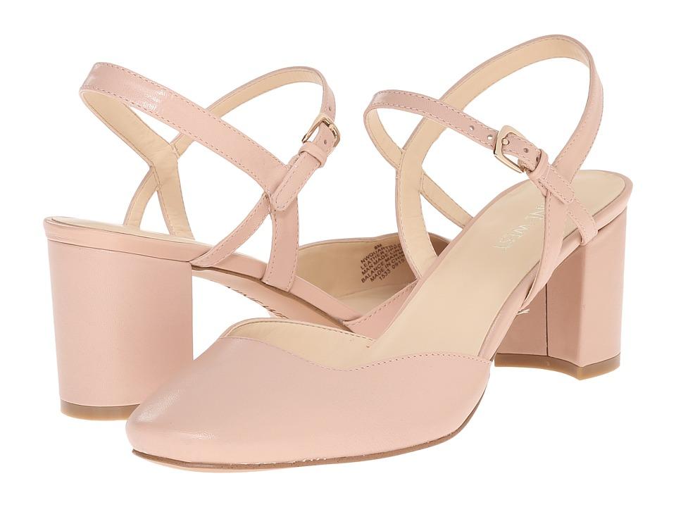 Nine West - Quartilla (Light Pink Leather) Women's Shoes
