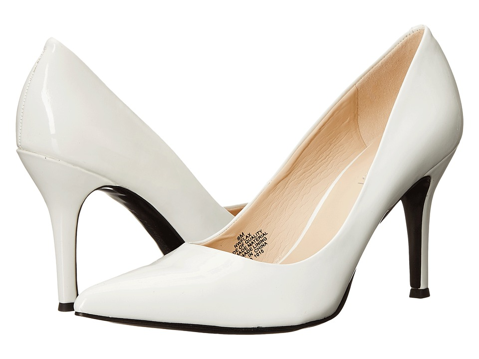 Nine West - Flax (White Synthetic 1) High Heels