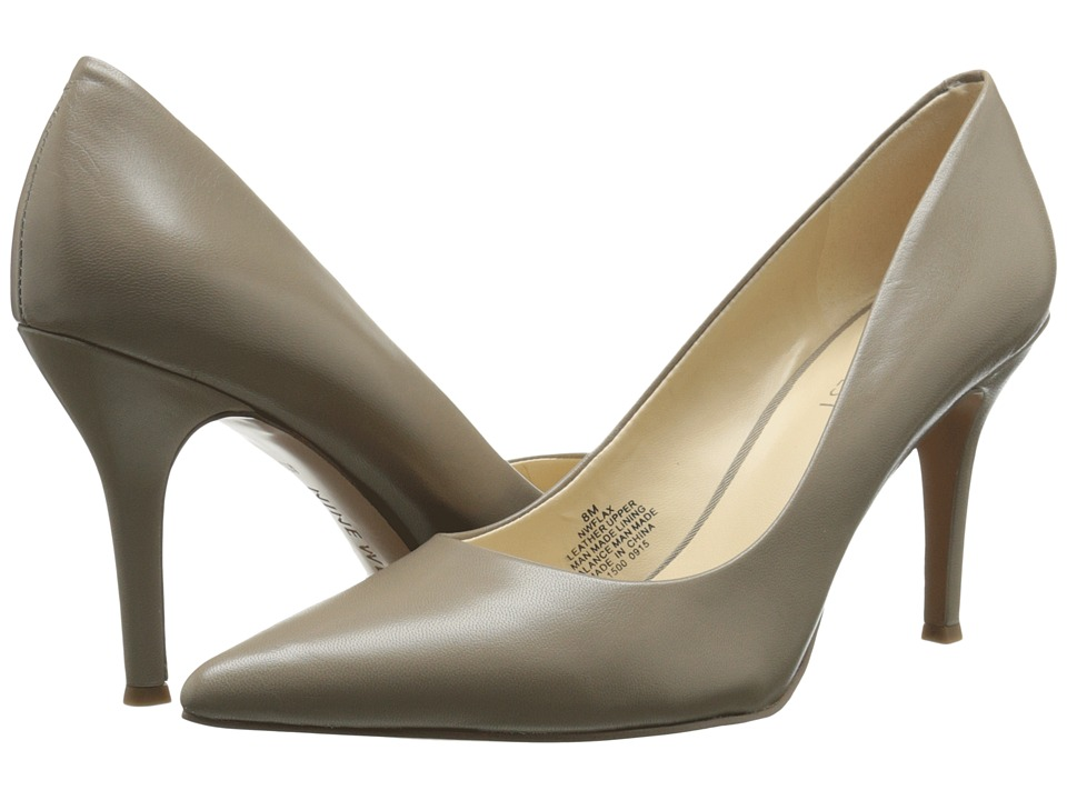 Nine West - Flax (Grey Leather 1) High Heels