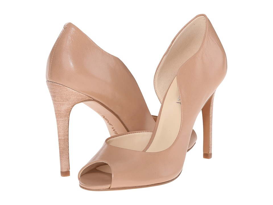 Nine West - Quikdraw (Taupe Leather) Women's Shoes
