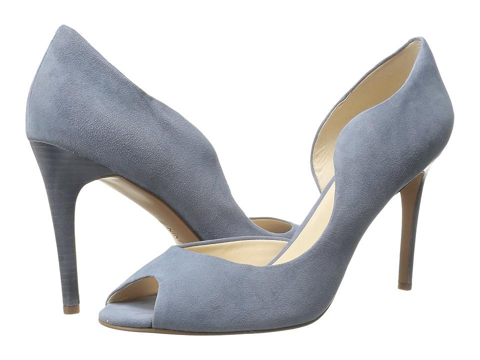 Nine West - Quikdraw (Blue Suede) Women's Shoes
