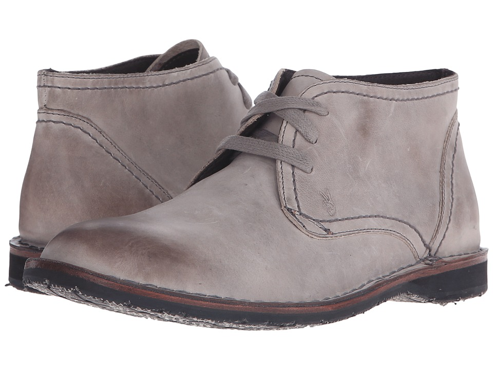 John Varvatos - Hipster Chukka (Elephant) Men's Lace-up Boots