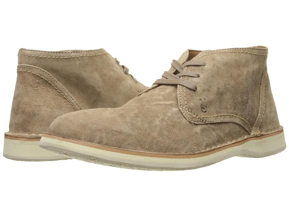 John Varvatos - Hipster Chukka (Sandstone) Men's Lace-up Boots