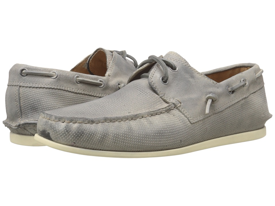 John Varvatos - Schooner Boat (Ash) Men's Slip on Shoes