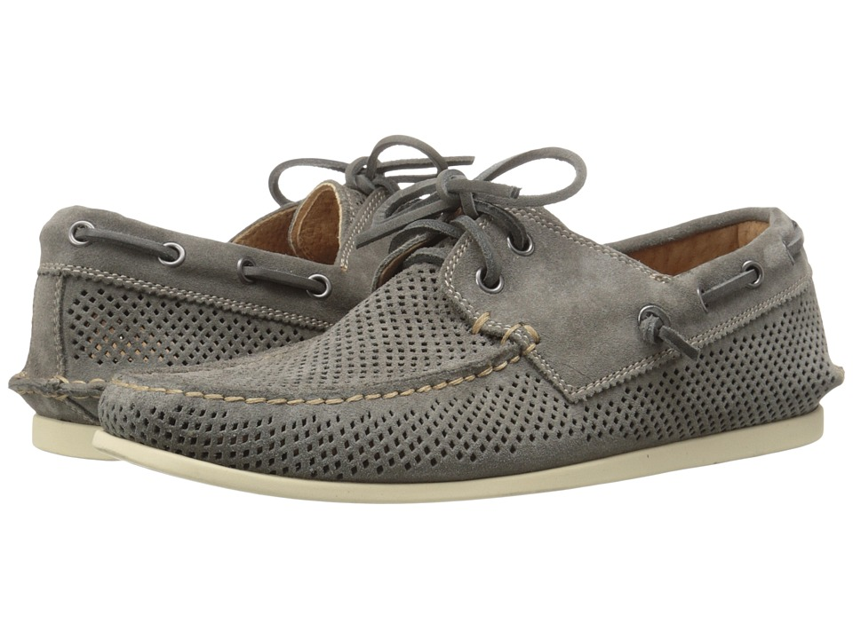 John Varvatos - Schooner Boat (Lead 1) Men's Slip on Shoes
