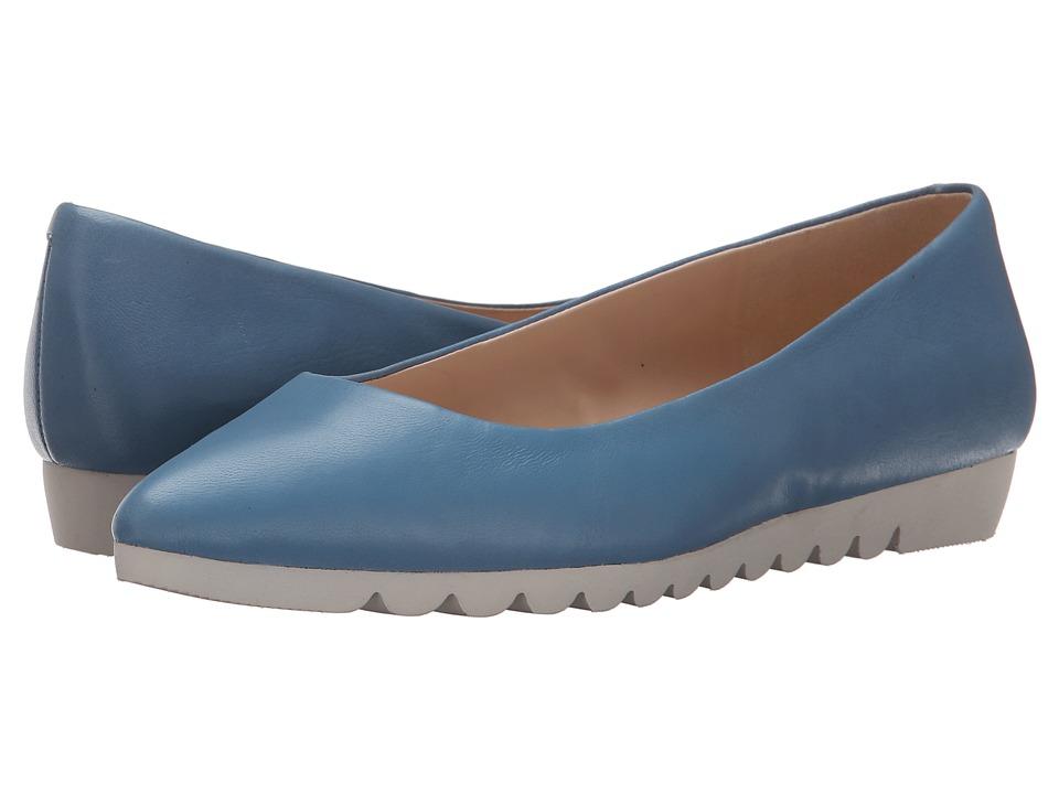 Nine West - Underway (Blue Leather) Women's Shoes