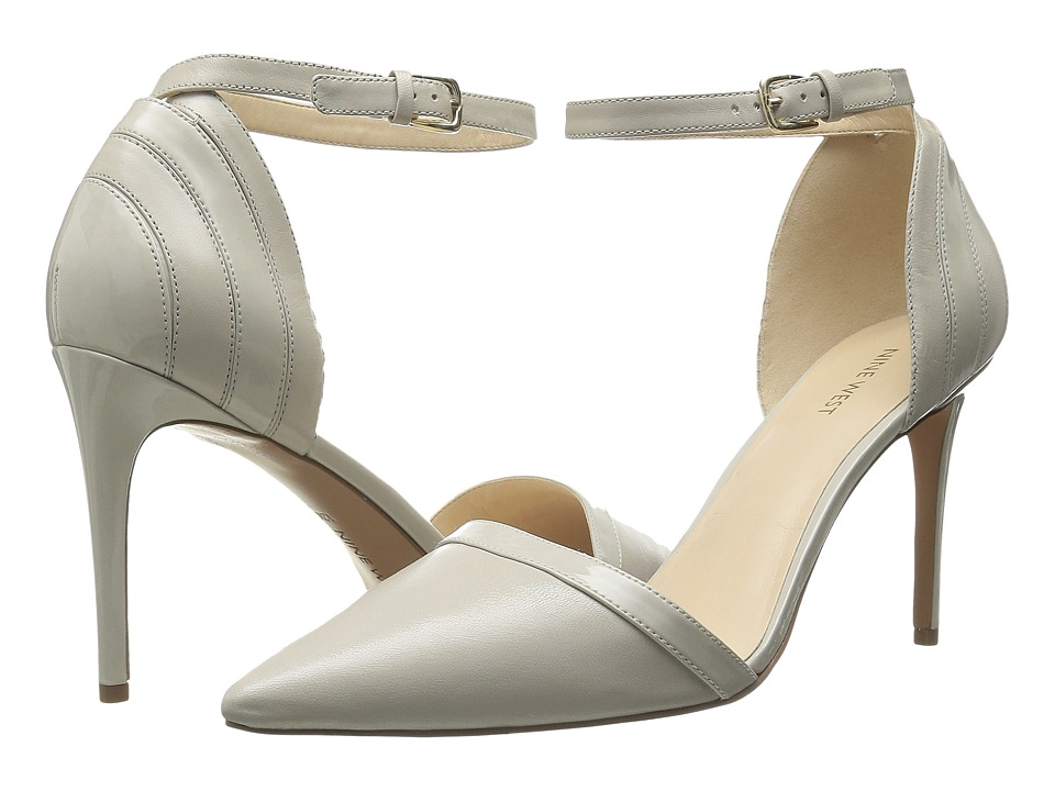 Nine West - Timeshare (Light Grey/Light Grey Leather) Women's Shoes