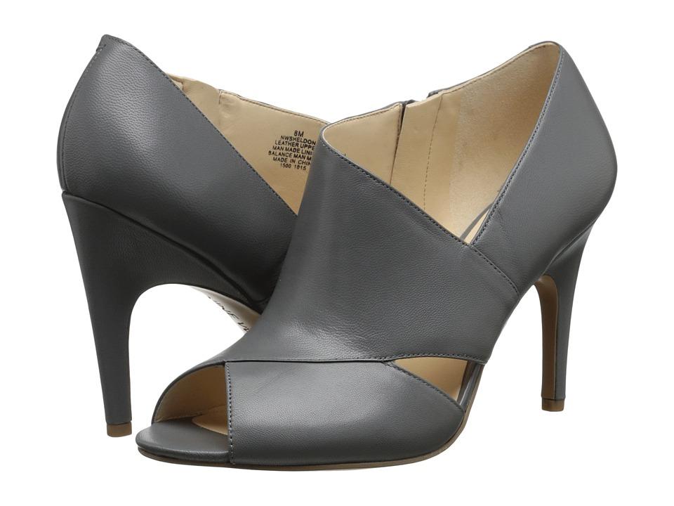 Nine West - Sheldon (Grey Leather) Women's Shoes