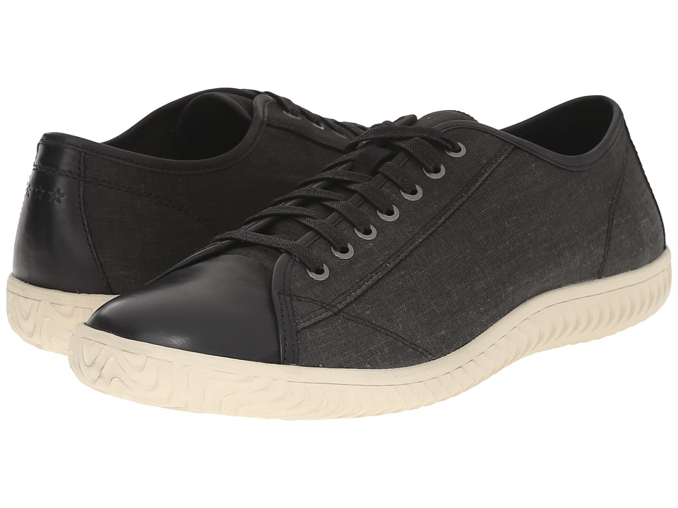 John Varvatos - Hattan Low Top (Mineral Black 1) Men's Lace up casual Shoes