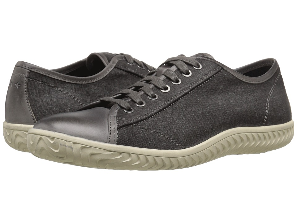 John Varvatos - Hattan Low Top (Lead 1) Men's Lace up casual Shoes