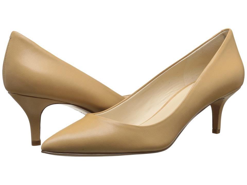 Nine West - Xeena (Light Natural Leather) Women's 1-2 inch heel Shoes