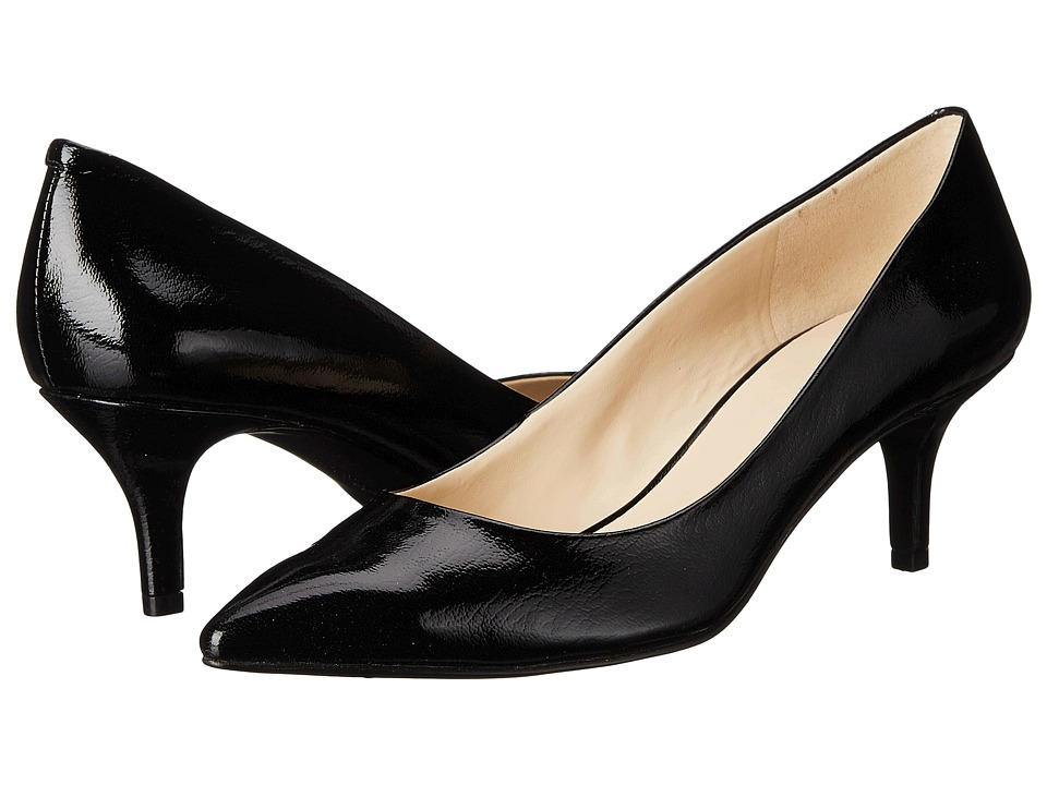 Nine West - Xeena (Black2 Synthetic) Women's 1-2 inch heel Shoes