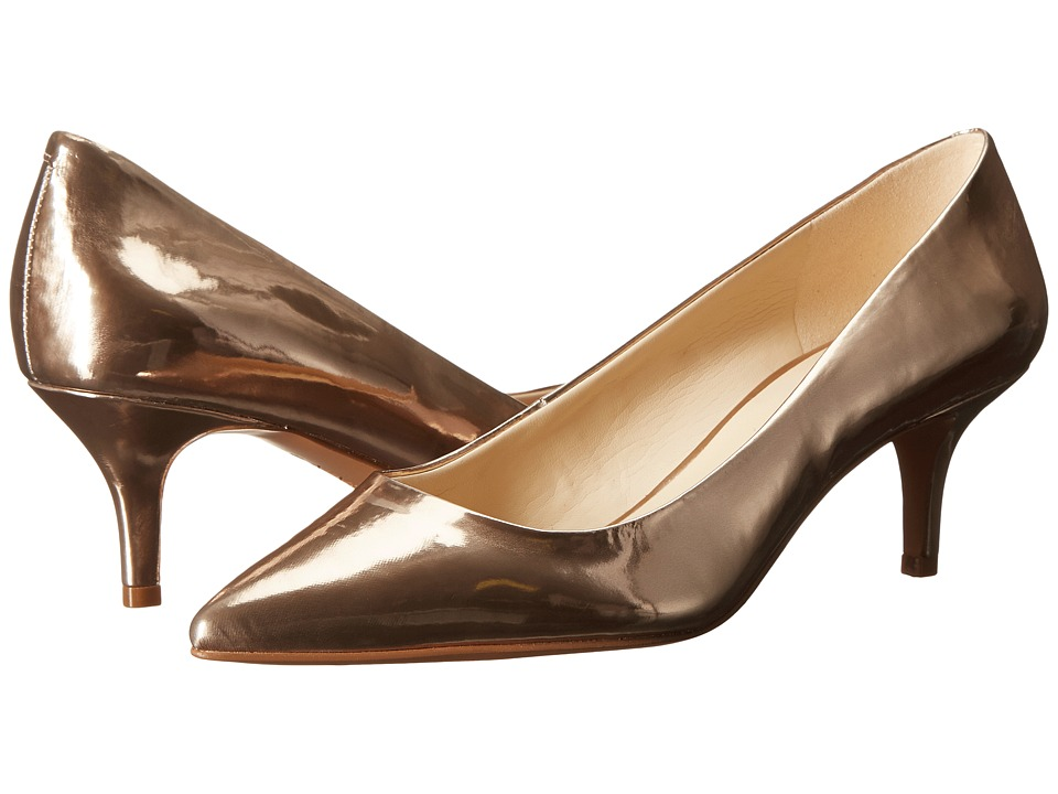 Nine West - Xeena (Light Natural Synthetic) Women's 1-2 inch heel Shoes plus size,  plus size fashion plus size appare