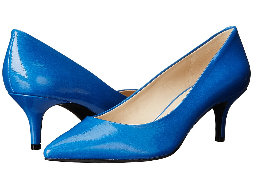 Nine West - Xeena (Blue Synthetic) Women's 1-2 inch heel Shoes
